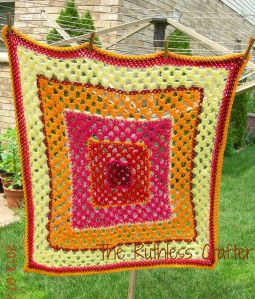 Bright Granny Crochet