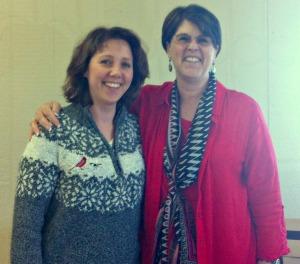 Karen Kay Buckley & I